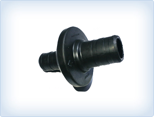 Rubber grommet for harness fixing hole
